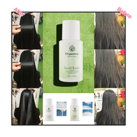 100% Natural Green Botanicals 100ML Shape Keratin+Purifying Shampoo+Smooth Booster With Straighten and Smooth Damaged Cruly Hair 2