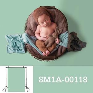 Image 2 - Allenjoy fotografia pano de fundo recém nascido cor sólida retrato do bebê aniversário tiro tamanho pequeno photocall photo studio prop