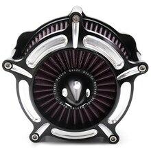 Мотоциклетные воздушные фильтры для турбины Воздухоочиститель воздушного фильтра для Harley Sportster Xl883 Xl1200 1991-2011 2012 2013