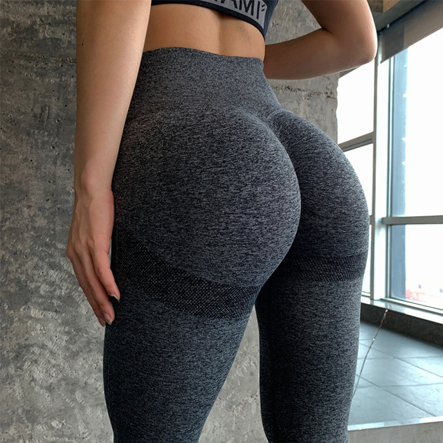 Women's Seamless Push Up Leggings  7