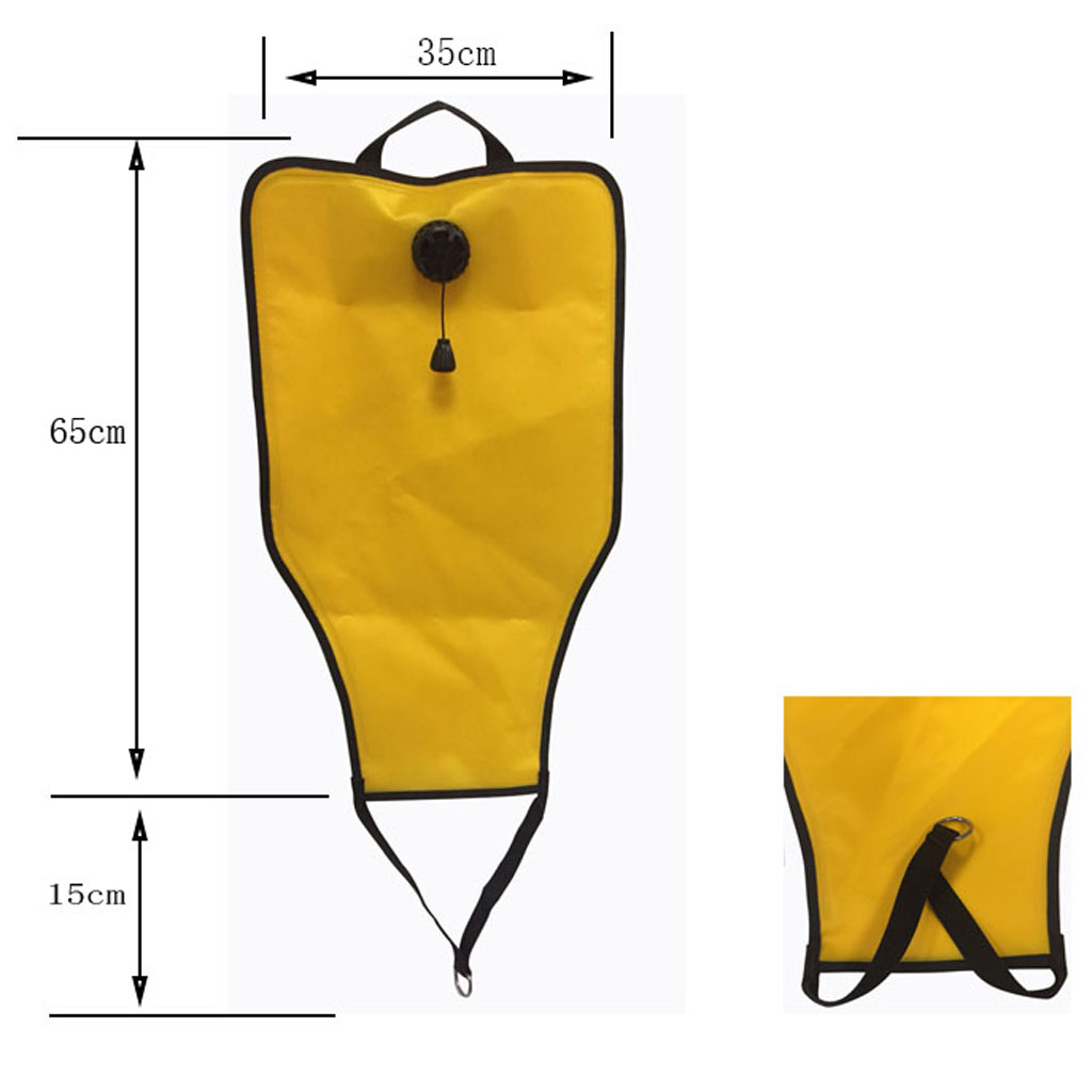 Diving Rescue Lift Bag High Quality Scuba Diving Salvage Bag With Dump Valve