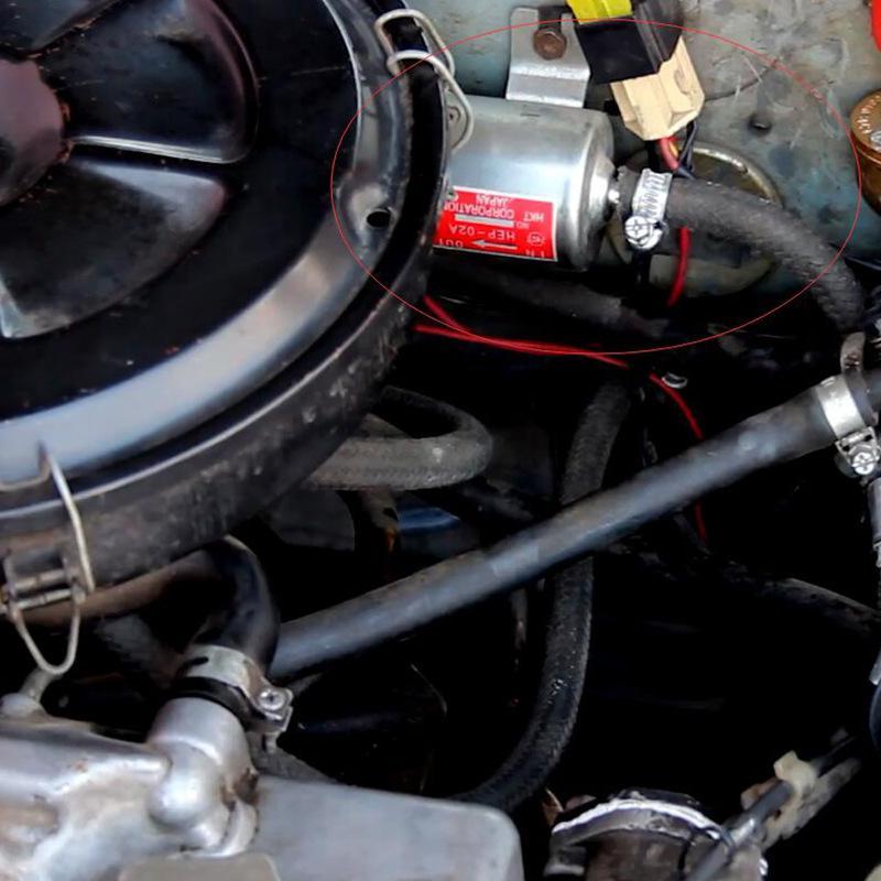 Bomba de combustível eletrônica para carro, modificação