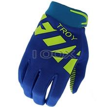 Spedizione gratuita dmx Fox Raner Gel guanti blu scuro Motocross moto fuoristrada bicicletta da corsa ciclismo MX DH MTB