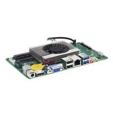 Intel Core i3-7100U Mini ITX Embedded Motherboard DDR3L mSATA SATA HDMI VGA 6 * USB Gigabit LAN Mini PCI-E WiFi BT MIC SPK 12V 5A