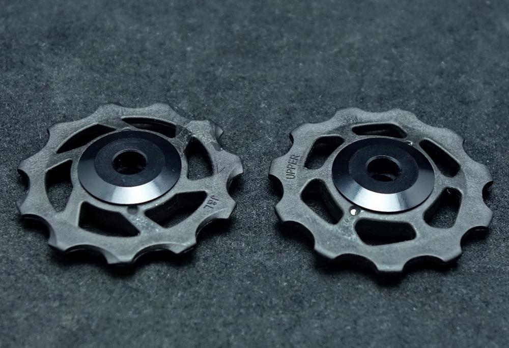 KCNC AL7075 14T+16T Jockey Wheel System For Shimano 10S//11S Black