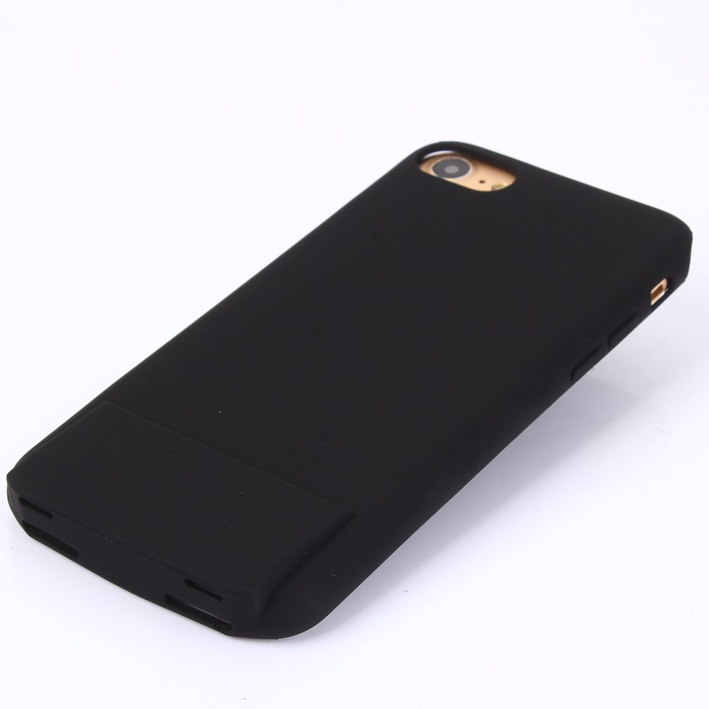 2 In 1 Power <font><b>Bank</b></font> Audio Adapter <font><b>Battery</b></font> Charger Phone Protective <font><b>Case</b></font> For <font><b>iPhone</b></font> 7Plus 8Plus Moblie Phone Accessories with light image