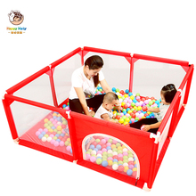 Baby Playpen Portable Infant Ball Pool Pit Mesh Indoor Safet