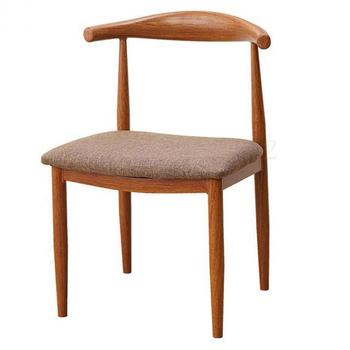 Imitation solid wood iron horn chair backrest stool simple dining  coffee dessert tea shop restaurant table and  combi
