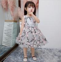 Glitz ילדי תינוקת שמלת נסיכת כדור שמלת Bow חגורת טבילת תינוקות יום הולדת מסיבת חתונת הטבלה שמלה