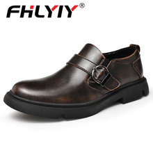 Fhlyiy Brand Men #8217 s Oxford Shoes Genuine Leather Dress Shoes Fashion Loafers High Quality Casual Flats Men Shoes Size 38-46 Black cheap Split Leather Rubber 1910599988075010-204d Hasp Fits true to size take your normal size Oxfords Solid Cotton Fabric Spring Autumn