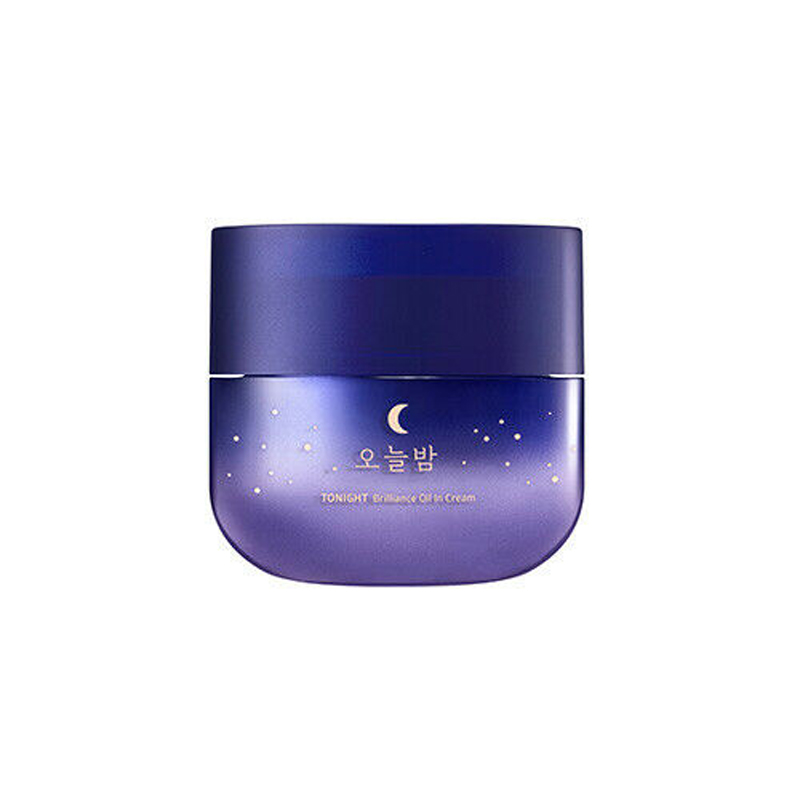 MISSHA Tonight Brilliance Oil Cream 50ml Night Cream Moisturizing Pearl Whitening Cream Face Firming Skin Care Korea Cosmetics image