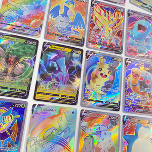 Image 2 - Pokemon Card GX Shining VMAX TAG TEAM Card TAKARA TOMY Game Battle Carte Trading Children Toy