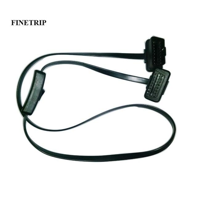 Câble OBD2 mâle à femelle de 60cm/1m, connecteur dextension de Diagnostic pour ELM327
