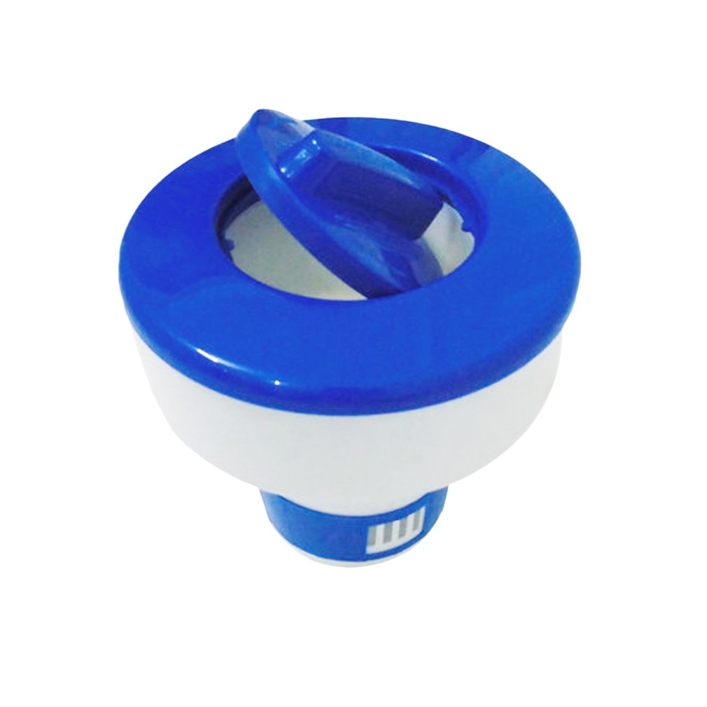 Chlorine Chemical Tablet Floating Dispenser Bromine Tablet Holder Automatic Pool Chemical Dispenser For Swimming Pool Spa