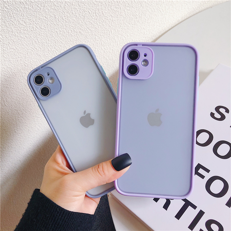 LECAYEE 2020 New iPhone Case Precise Super Anti Knock Phone Protective Cases for iPhone 11 Pro X XR XS Max 7 8 Pus 6s 6 SE (6)