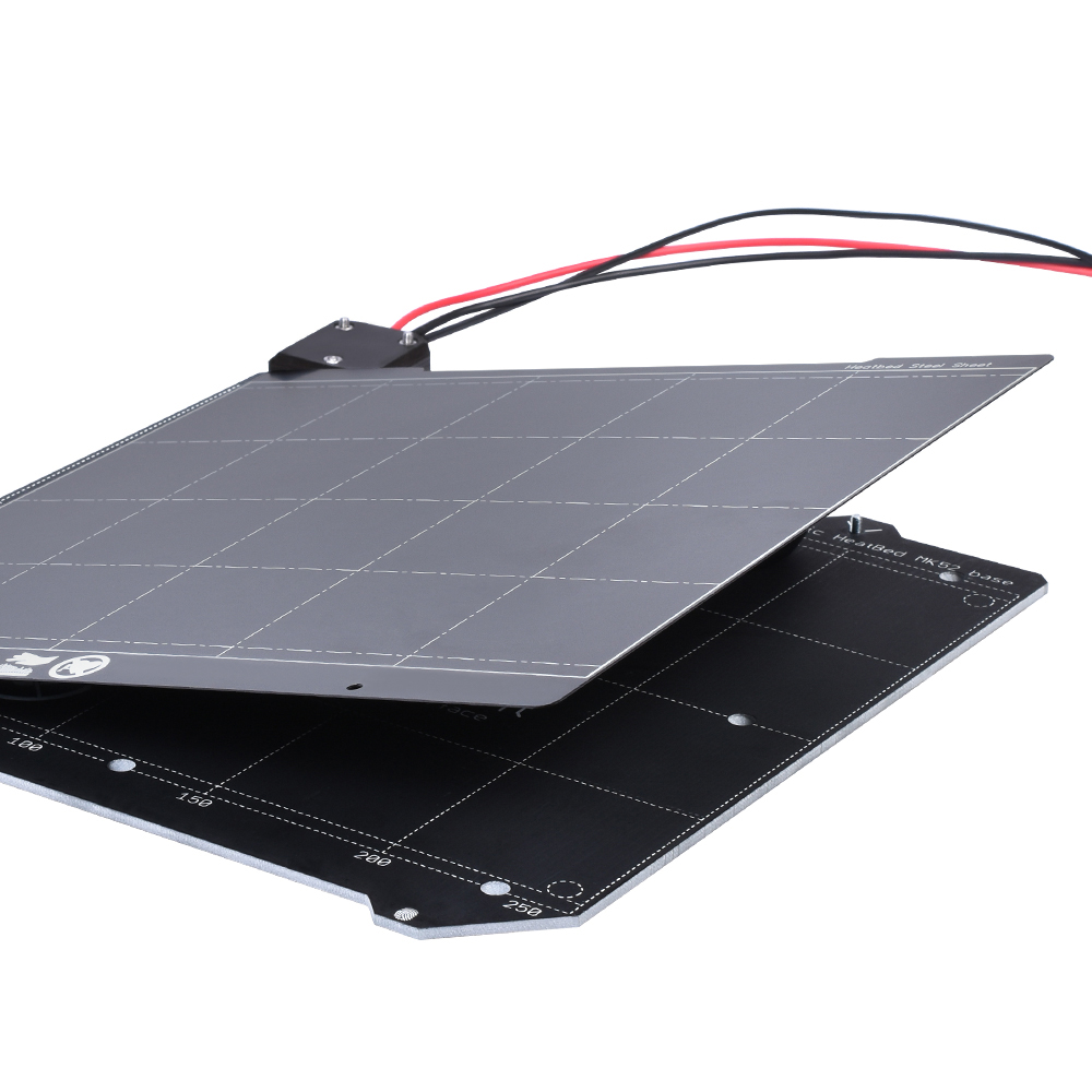 Magnetic Heatbed/Spring Steel Plate Platform for MK3/MK3S Heated Bed as 3D Printer Parts