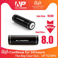 Semua Kekuatan Portable Charger 5400 MAh Ponsel Eksternal Power Bank untuk Iphone 6 6 S 7 PLUS Samsung Galaxy xiao Mi Mi(China)