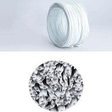Galvanized wire Tie wire tie shaped for masks nose bridge strip galvanized tie wire oblate wire grape tie Medical mask wire