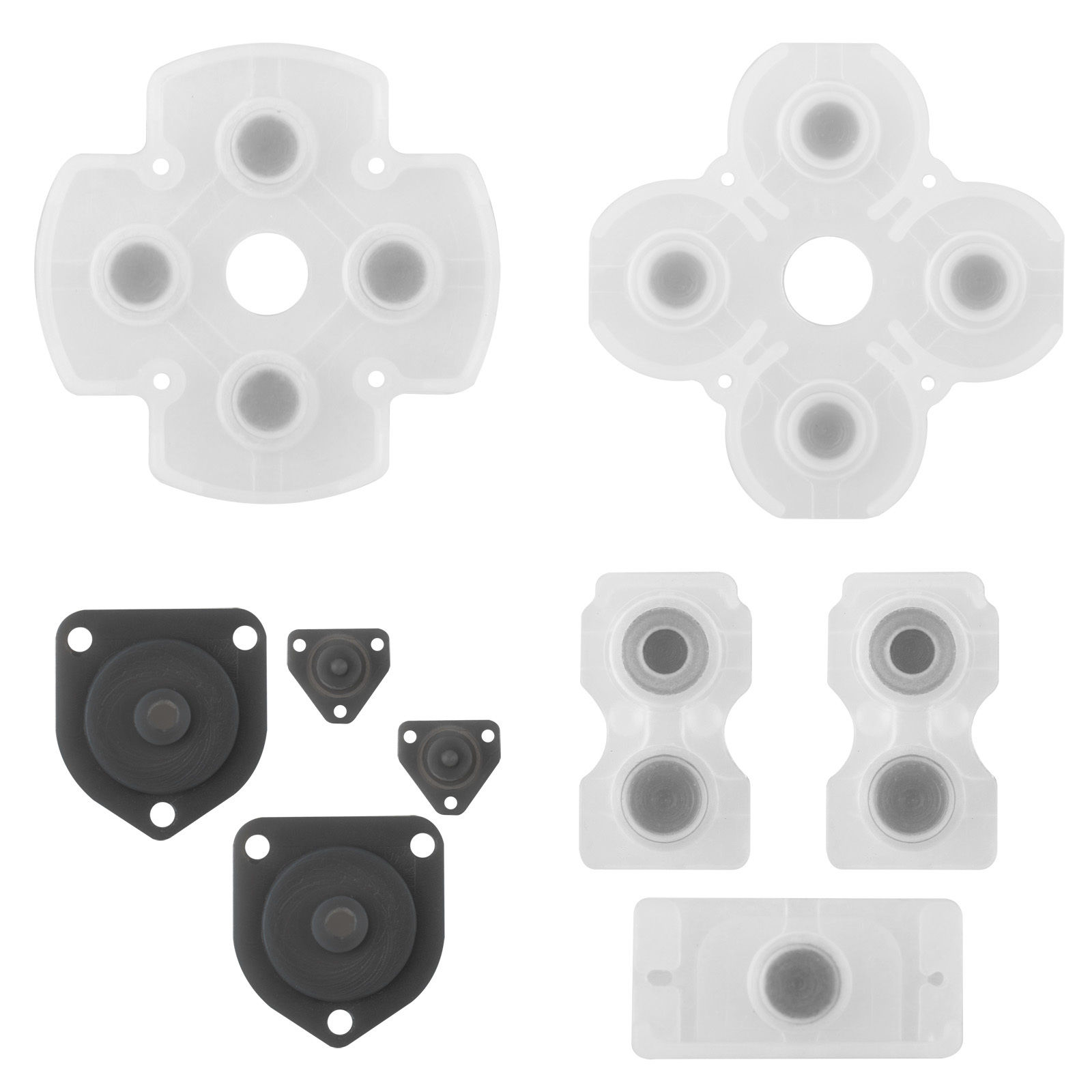 Controller Rubber Conductive Pad Silicon Buttons For Sony PS4 Repair Replacement