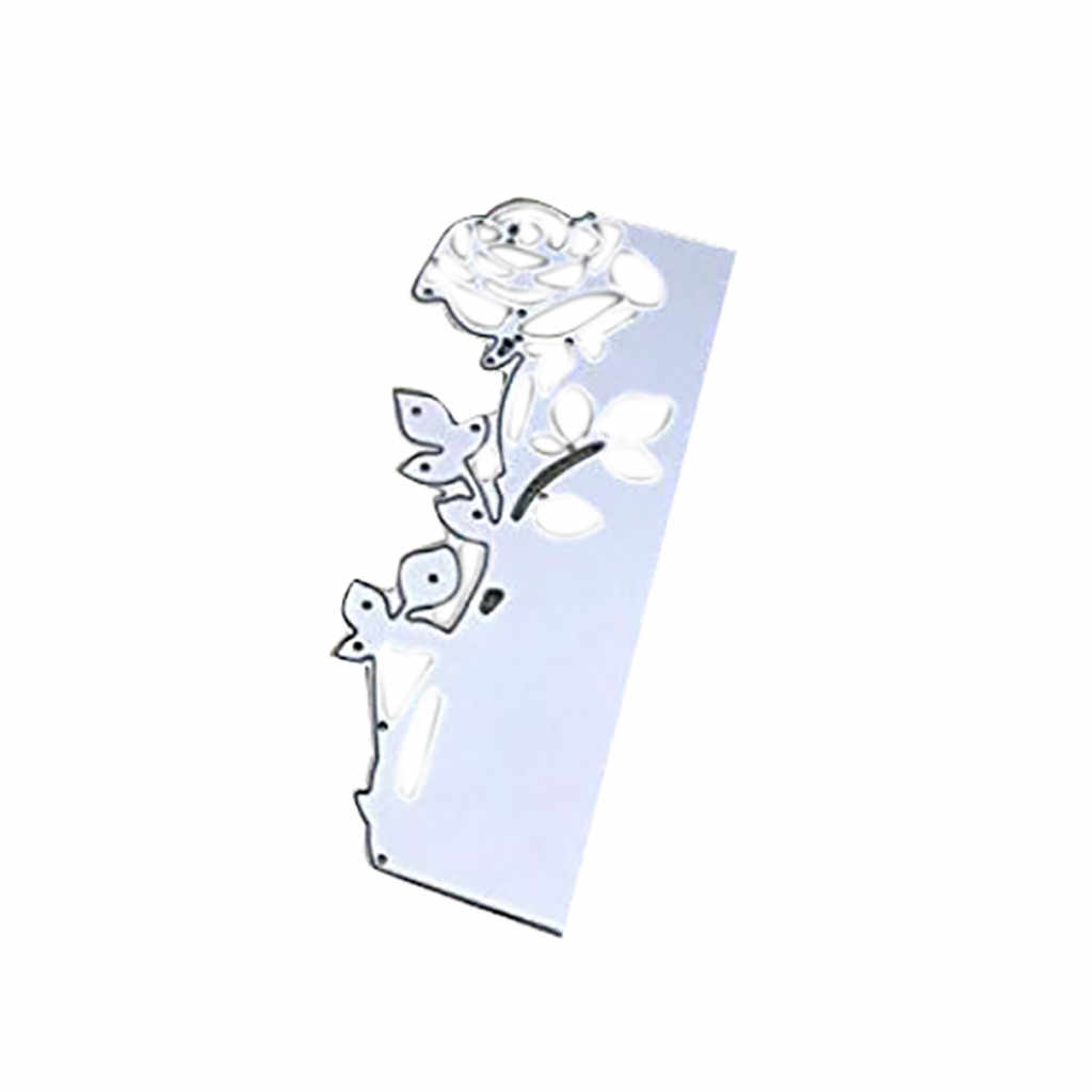 Liście metalu wykrojniki Scrapbookin szablony diy wystrój papierowych kartek maszyna do cięcia tłoczenie dekoracja albumu nowy 2019