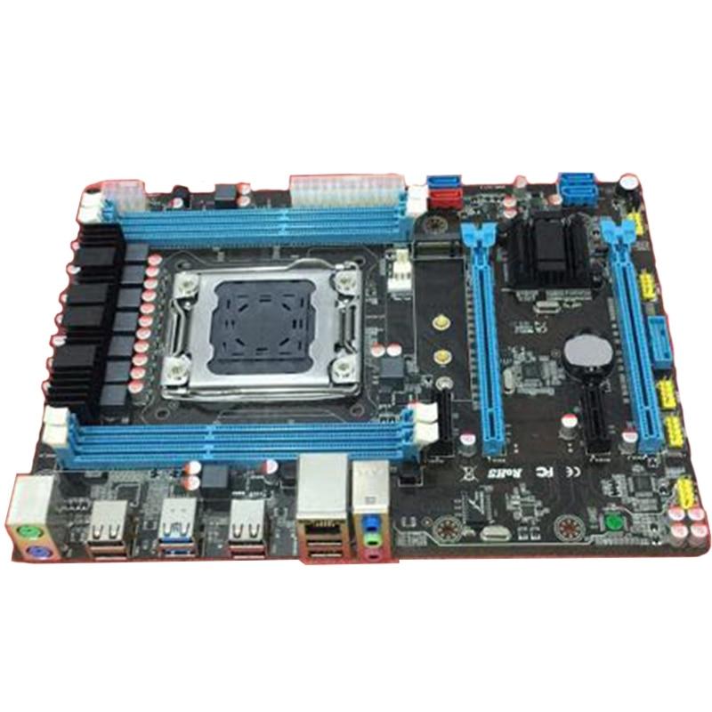 X79-B75 Motherboard LGA 2011 USB3.0 SATA3 PCI-E 4x16G REG ECC Memory Support Xeon E5 E5-2650E5-2670