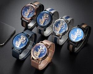 Image 3 - Vintage Automatic Mechanical Watches Men Tourbillon Transparent Skeleton Dial Self wind Steel Leather Steel Man Wristwatch Clock