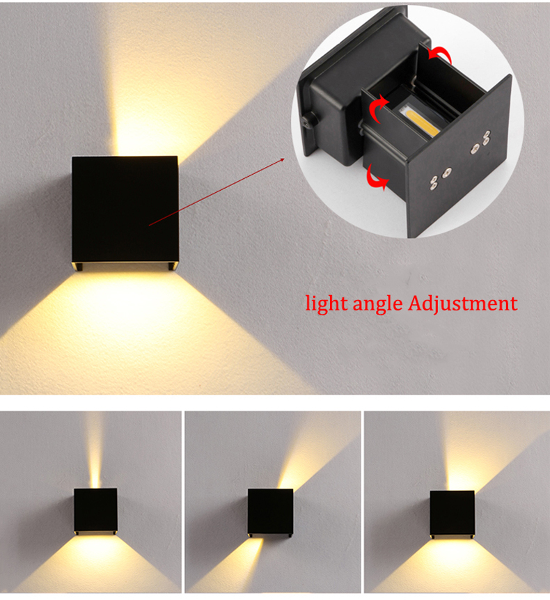 LED Wall lights (8)