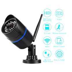 720P Wifi IP kamera bezprzewodowa CCTV Outdoor Onvif 3.6mm obsługa wykrywania ruchu wodoodporne noktowizyjne kamery domowe P2P