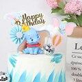 2020 Disney фильм 10 см слон Дамбо поза аниме украшение ПВХ экшн-Фигурки игрушки модель для детей подарок на день рождения