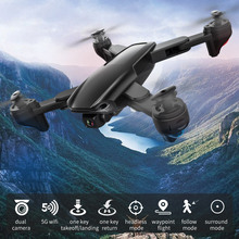 Rc-Drone Rc-Quadcopter Follow Positioning Foldable SG701S Optical-Flow Headless Dual-Camera