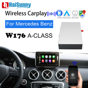 Wireless OEM Carplay Retrofit For Mercedes W176 Car Play 2011-17 NTG Support Android Auto IOS Navigation Reverse Upgrade Screen image
