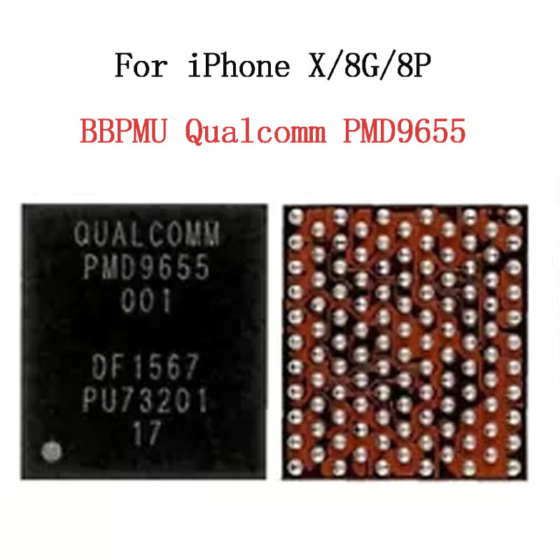 5PCS/lot PMD9655 BBPMU IC For IPhone X/8G/8 Plus RF Power PMIC Baseband Management IC New Integrated Circuits