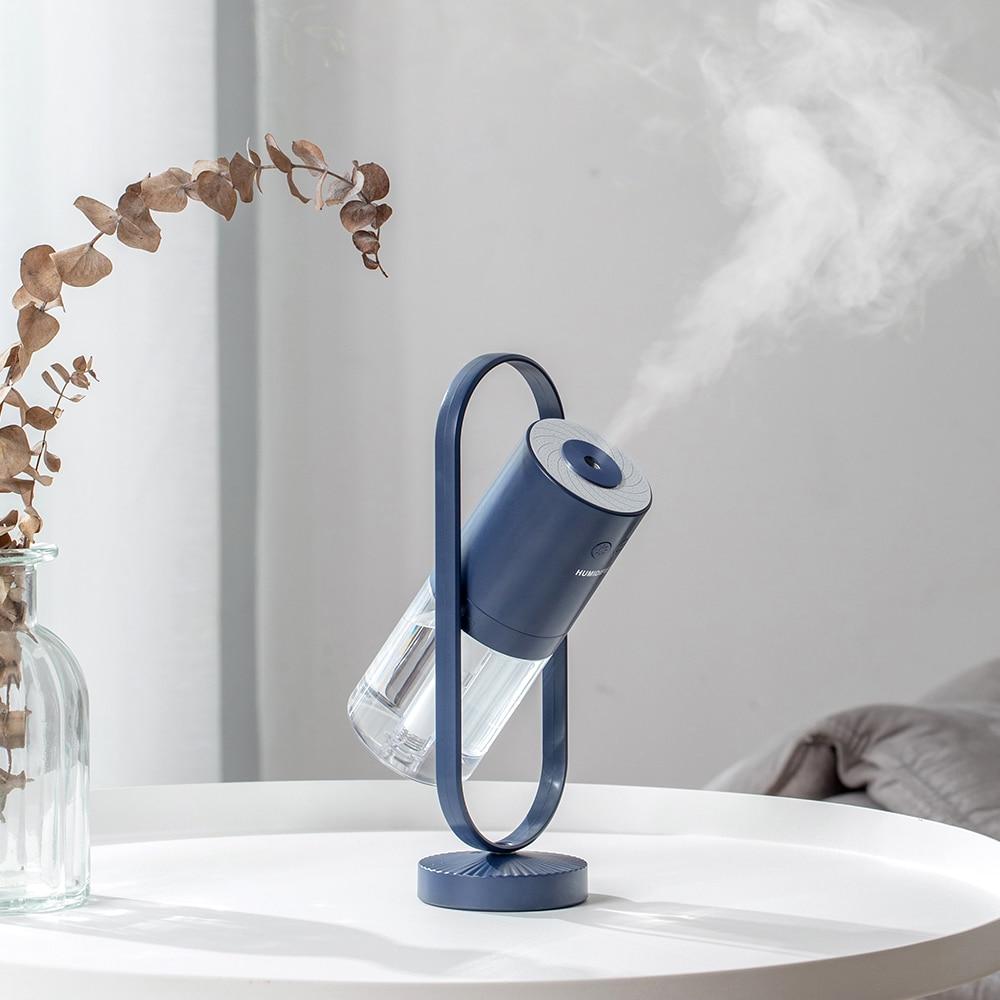 MINI Magic ion Air Humidifier 200ML Ultrasonic Essential Oil Diffuser Cool Mist Air Purifier 7 Color Lights Home Office