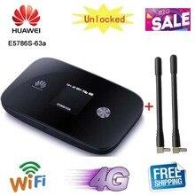 Разблокированный 300 Мбит/с huawei e5786 E5786s-63a 4G LTE Cat6 мобильный WiFi модем беспроводной маршрутизатор на точке доступа