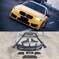 5 серий широкий Комплект переднего бампера гриль задний бампер боковые юбки крылья для BMW F10 F18 2011-2017 автомобильный Стайлинг