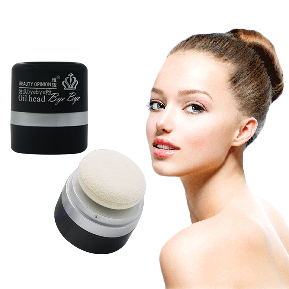 Oily Hair Quick Dry Shampoo Powder Hair Styling Fix Hair Greasy with Cleaning Sponge for Laziness People TSLM1 image