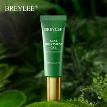 BREYLEE wzmocniony żel do leczenia trądziku kwas salicylowy usuń pryszcz naprawa przeciw zapaleniu twarzy zmniejszyć pory zaczerwienienie pielęgnacja twarzy
