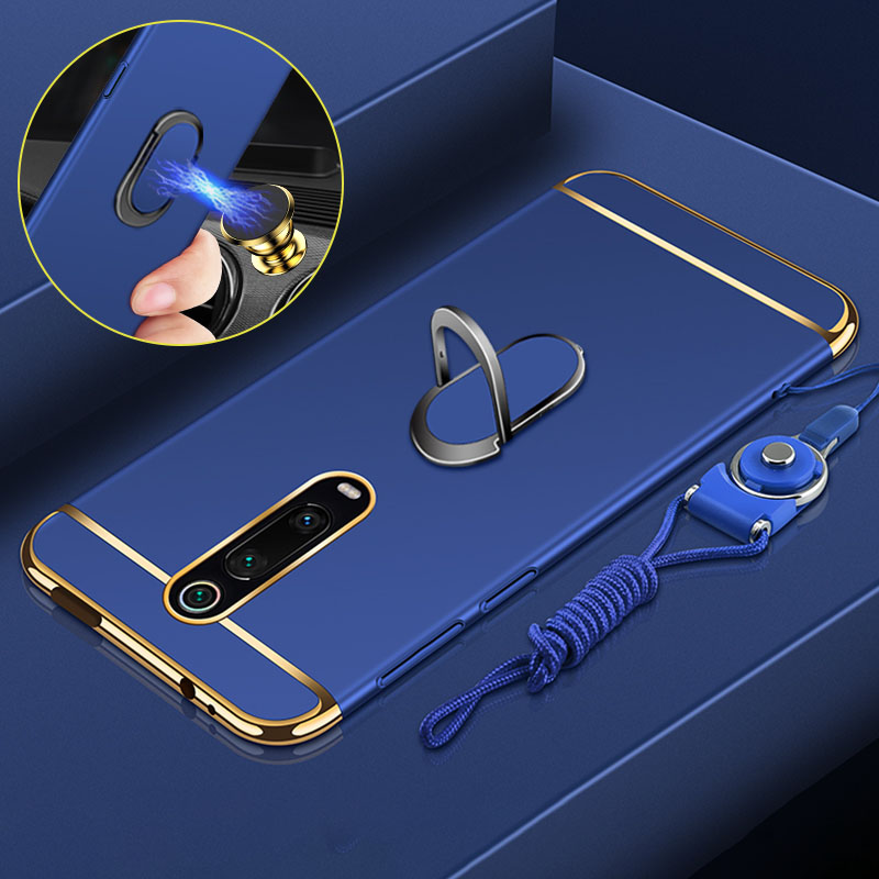 For Xiaomi Mi 9T Pro Case Xiaomi Mi 9T Case Hard Back Cover Magnetic Ring Holder Fundas Shockproof Luxury Business capas