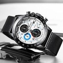 2020 LIGE Casual Sport Watches Mens Waterproof Clock Top Brand Luxury Men watch