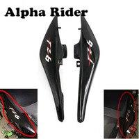 1 Pair Motorcycle Rear Upper Side Fairings Panel High Quality Plastic For Yamaha FZ6 FZ6N FZ 6N 2007 2008 2009 07 08 09