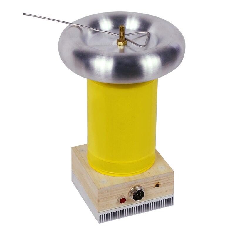 Bobine Tesla fini musique haute fréquence modèle générateur d'allumage kit de bricolage carte d'entraînement foudre - 2