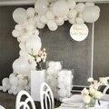 98 шт., белые латексные украшения для свадьбы