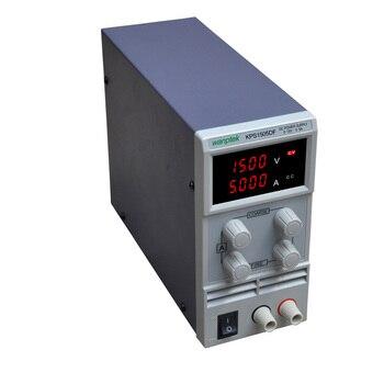 цена на High quality KPS1505DF 15V5A 110V-230V 0.1V/0.001A EU LED Digital Adjustable Switch DC Power Supply mA display Switch