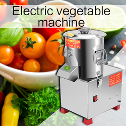 Commercial electric vegetable machine multi-function vegetable filling machine household stainless steel leeks machine