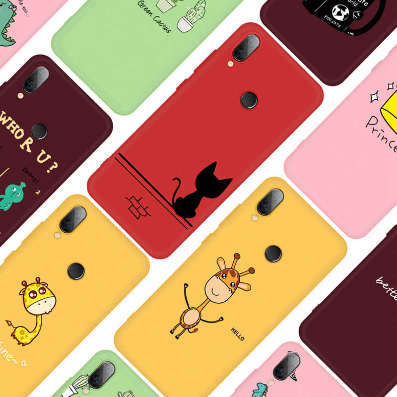Lovely Cartoon Pattern Matte Case For Redmi 7 6A 7A Protective Phone Back Cover For Xiaomi Redmi Note 5 6 7 8 Pro K20 Pro K20