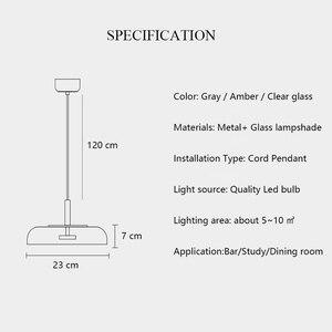 Image 5 - Modern Led Chandelier Lighting Fixtures Living Room Dining Room Bar Nordic Contemporary Chandelier Ceiling Light Glass Lustre