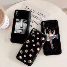 Fashion Case For Xiaomi MI 6 8 9 8Lite 8 SE Mi 9 9T Pro CC9 CC9e Lite TPU Cases Matte funda xaomi 9se 9 t cover para cute funny(China)