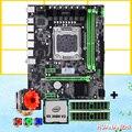 WUSON store компьютер DIY HUANANZHI X79 материнская плата Процессор Intel Xeon E5 2680 V2 с 6 тепловыми трубами кулер RAM 8G (2*4G) DDR3 REG ECC