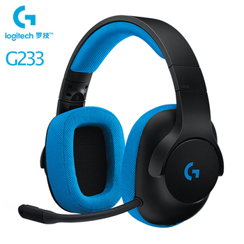 Logitech G233 PRODIGY 3.5mm Wired Headset Over-Ear Gamer Gaming Headphones With Microphone For PS4/Xbox One S/Nintendo Switch/PC
