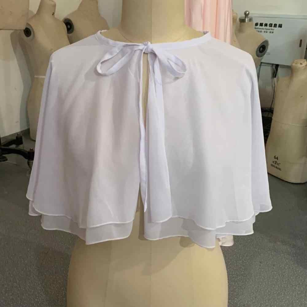Vestidos de casamento chiffon branco, vestidos de chiffon para baile, vestidos de festa, envoltório, manto formal feminino, preto, para casamento